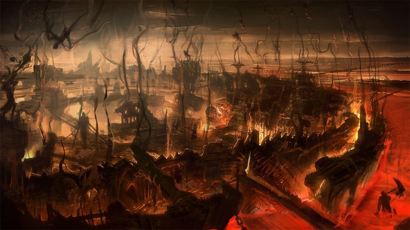 Screenshot from Dante's Inferno video game